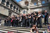 "La Coral Polifónica Municipal ""Hims Mola"" participó en la Misa del Peregrino en la Catedral de Santiago de Compostela"