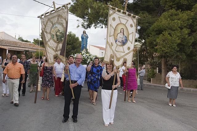 Majada despide sus fiestas con misa y procesión en honor a la Virgen - 1, Foto 1