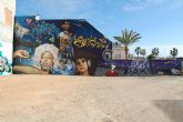Una selección de graffiteros, grupos de hip-hop, y dj's como DJ Imperial, participan en el Graff Obsession 09