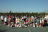 Comienza la Escuela de Tenis del Club de Tenis de Totana