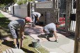 El 'Taller de Empleo Inserta' trabaja a fondo en las tareas municipales