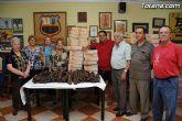 La Peña Barcelonista de Totana reparte lotes de productos alimenticios excedentarios de la Trobada