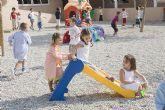 M�s de 3.000 escolares del municipio de Mazarr�n han iniciado hoy sus clases