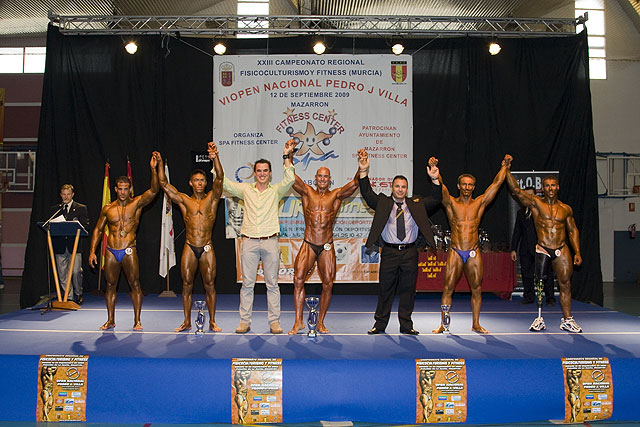 Gran afluencia de público en el Campeonato de Físicoculturismo y Fitness - 1, Foto 1