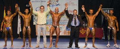Gran afluencia de p�blico en el Campeonato de F�sicoculturismo y Fitness