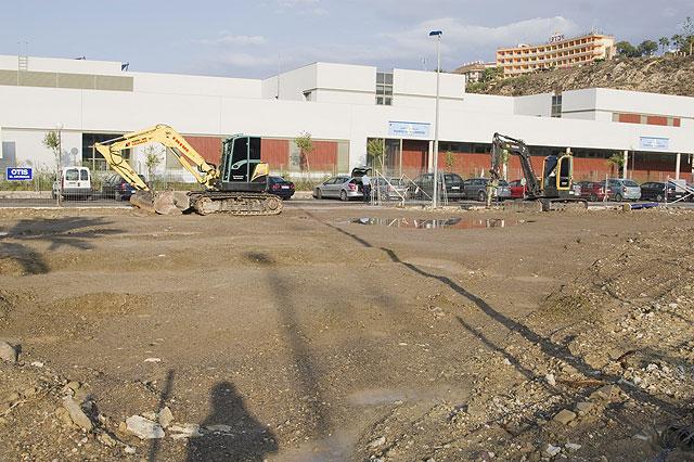 La Concejalía de Infraestructuras y urbanismo renueva la plaza de la calle Sierra del Carche - 1, Foto 1