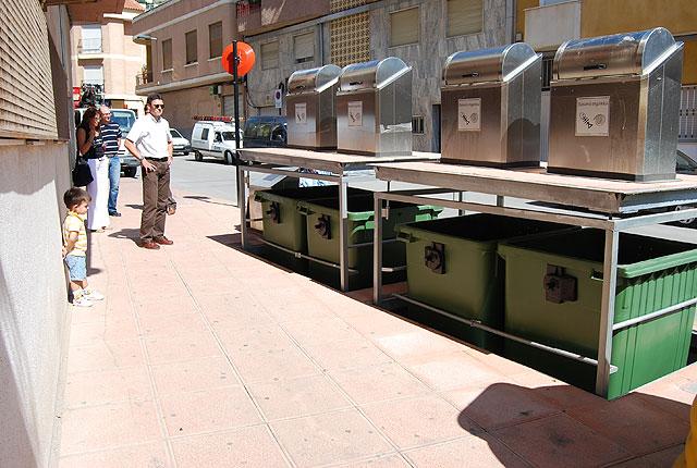 El próximo viernes 25 por la noche ya se podrán utilizar los primeros contenedores soterrados que se instalan en el municipio, Foto 2