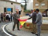 El Delegado del Gobierno y el alcalde de Mula inauguran la nueva rotonda entre las carreteras de Pliego y Caravaca
