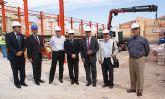 González Tovar y Lázaro Mellado visitan las obras del Fondo Estatal de Inversión Local en Alcantarilla