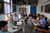 El delegado del Gobierno copreside la Junta Local de Seguridad en Alcantarilla