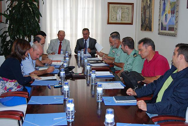 El Delegado del Gobierno propone al Alcalde de Alhama un Convenio de Seguridad con el Ministerio del Interior, Foto 1