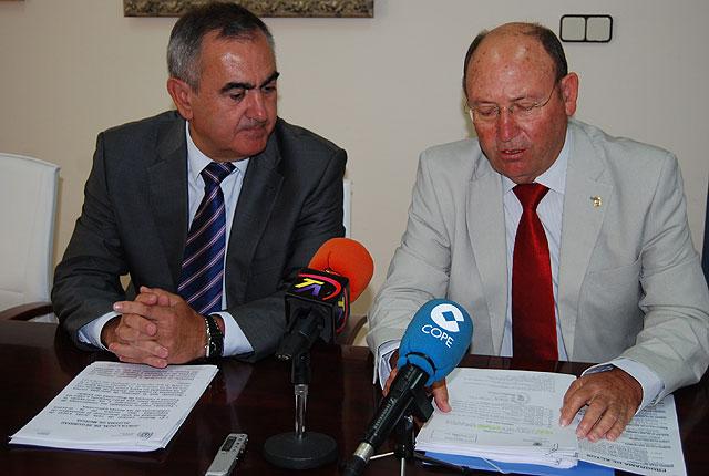 El Delegado del Gobierno propone al Alcalde de Alhama un Convenio de Seguridad con el Ministerio del Interior, Foto 2