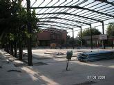 La evolución de las obras del Plan–E en Alguazas