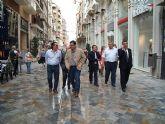 Almería se fija en Cartagena para peatonalizar su casco