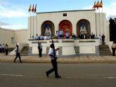 Visita del Príncipe Felipe de Borbón a la Academia General del Aire de San Javier