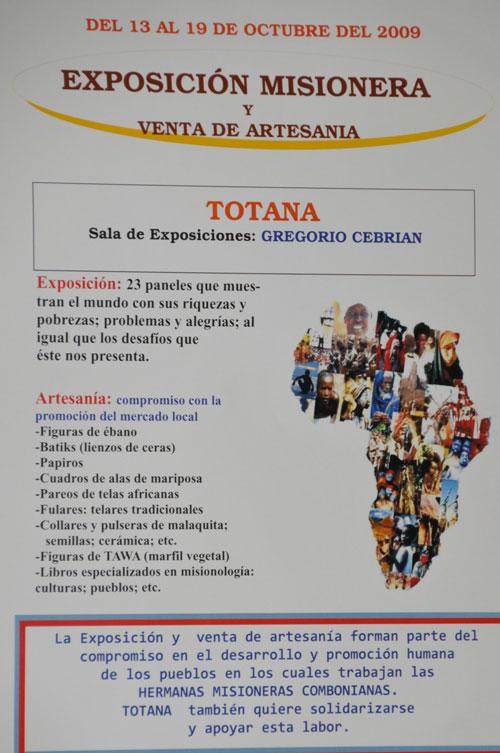 La sala de exposiciones Gregorio Cebrián acoge del 13 al 19 de octubre una exposción misionera y venta de artesanía - 2, Foto 2