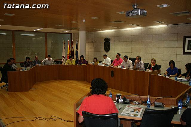El Pleno aprueba un total de siete proyectos de regeneración de calles, sustitución de aceras y servicios generales del POS 2010 - 1, Foto 1
