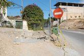 Mejora del saneamiento en la Carretera de Alcantarilla