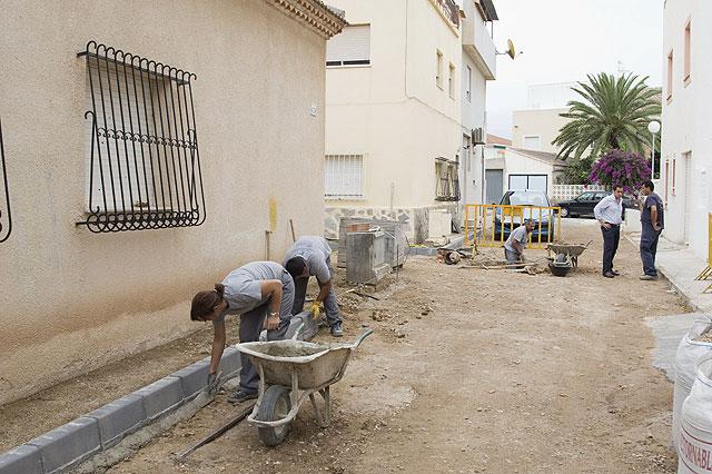 El taller de empleo Inserta trabaja en la mejora de la calle Limoneros - 1, Foto 1