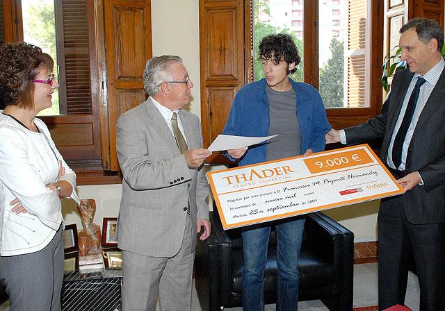 La Universidad de Murcia entrega los premios de relato corto Erasmus - 1, Foto 1