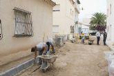 El taller de empleo Inserta trabaja en la mejora de la calle Limoneros