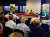 El alcalde destaca la importancia de los sectores productivos en el marco de las jornadas de 'Seguros agrarios, hortalizas y cultivos protegidos'