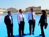 El Delegado del Gobierno y el Alcalde de Molina de Segura visitan varias obras correspondientes al Fondo Estatal de Inversión Local
