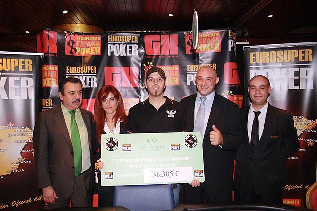 Sergio Pardo se proclama vencedor de la 8ª fase del Campeonato de España de Poker - 1, Foto 1