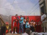José Luis Ríos y José Ángel Camacho consiguen dos premios para el Club Ciclista Santa Eulalia en la carrera de las fiestas de La Aparecida
