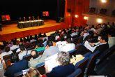 Marín mantiene un encuentro de trabajo con más de 150 empresarios de Abanilla