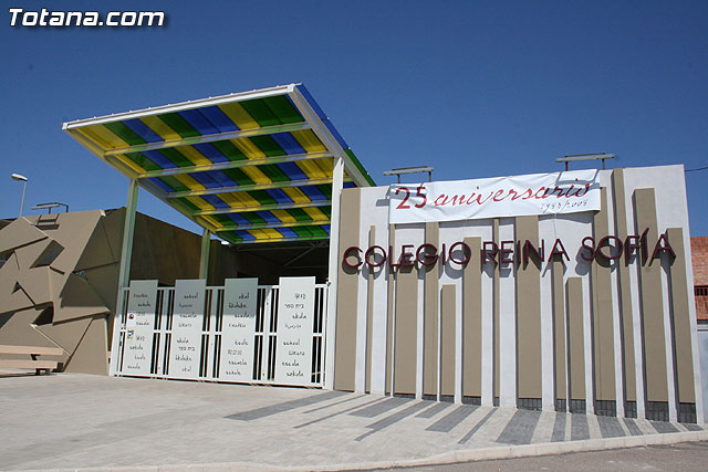El acto de la apertura oficial del curso escolar 2009-10 se llevará a cabo mañana a las 20:00 horas en el Colegio Reina Sofía - 1, Foto 1
