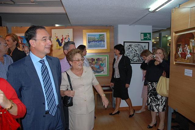 El consejero de Política Social inaugura la Semana Intergeneracional de la Pintura - 1, Foto 1