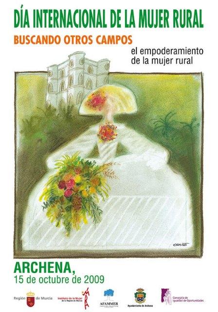 La jornada Buscando nuevos campos: el empoderamiento de la mujer rural, que se celebra en Archena, tendrá lugar el día 15 de octubre - 1, Foto 1
