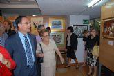 El consejero de Política Social inaugura la Semana Intergeneracional de la Pintura