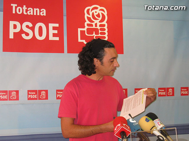 """Mart�nez Usero: Mart�nez Andreo no es la soluci�n a los graves problemas de Totana, �l es el problema"""", Foto 1"""