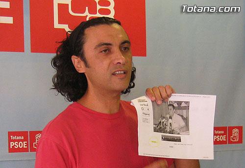 """Mart�nez Usero: Mart�nez Andreo no es la soluci�n a los graves problemas de Totana, �l es el problema"""", Foto 2"""