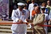 La Exposici�n Est�tica de la Armada Española se puede visitar en la Plaza de la Constituci�n
