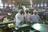 Marín destaca la apuesta por la innovación de las empresas alimentarias de la Región para mejorar su competitividad y valor añadido