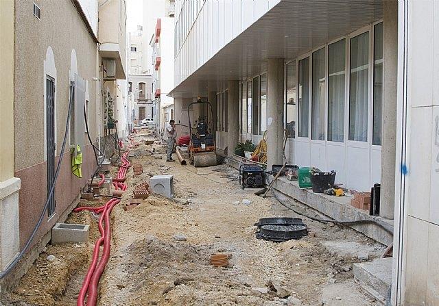 El Pleno aprueba el plan de inversión en la red de saneamiento 2009 - 1, Foto 1