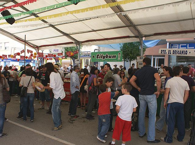 Inaugurada la Feria de Mediodía de las Fiestas Patronales 2009 - 1, Foto 1