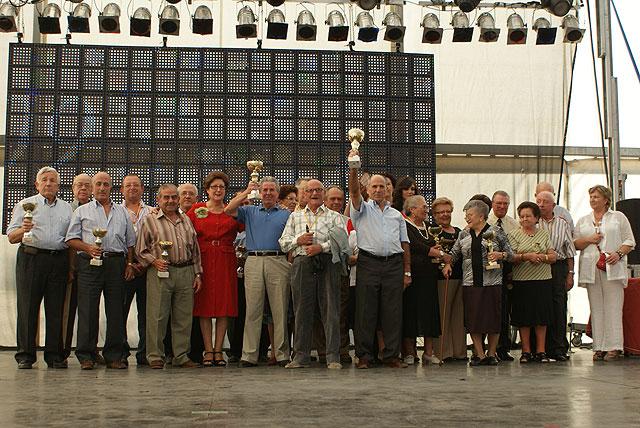 Especial Día de los Mayores en la caseta municipal con motivo de las Fiestas Patronales 2009 - 1, Foto 1