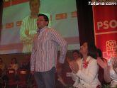 El secretario general de Juventudes Socialistas, Jesús B. Lorca, pide a la concejal del PP, Josefa María Sánchez, que deje de hacer demagogia