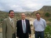 CHS y Ayuntamiento de Mula comprueban el buen estado del cauce del río a su paso por los Baños