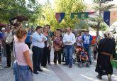 El Alcalde inaugura el Mercado Medieval de la Feria y Fiestas de Puerto Lumbreras 2009