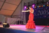 La caseta municipal acogió anoche el Festival de Copla Española con un 'lleno absoluto'