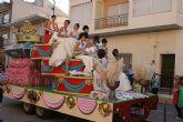 Luz y color con el tradicional Desfile de Puerto Lumbreras en el que han participado más de una treintena de carrozas y comparsas