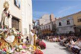 Puerto Lumbreras acoge la tradicional Ofrenda Floral y la Misa Solemne en Honor a Ntra. Sra. Virgen del Rosario