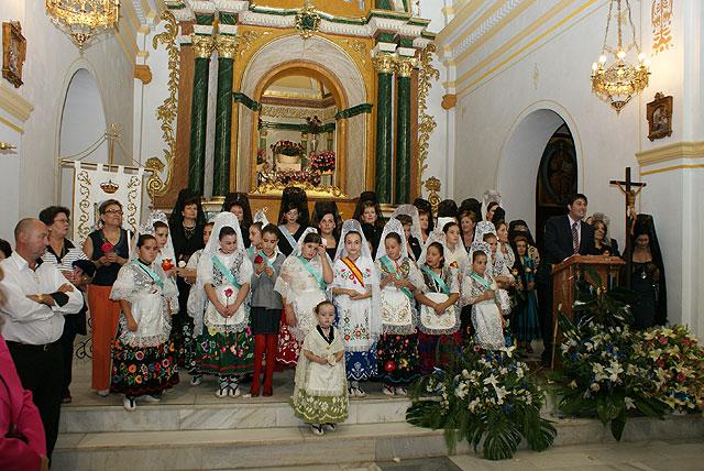 Miles de lumbrerenses arroparon a la Stma. Virgen del Rosario - 3, Foto 3