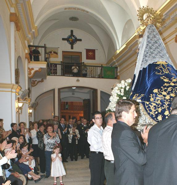 Miles de lumbrerenses arroparon a la Stma. Virgen del Rosario - 5, Foto 5