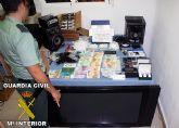 La Guardia Civil detiene a dos personas en Cieza por un presunto delito contra la salud pública